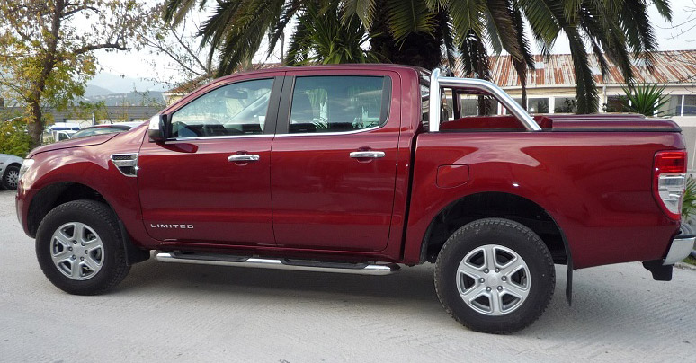 Couvre benne Ford Ranger 2012 Double Cabine Arceau