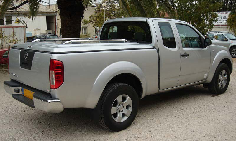Couvre benne pick-up Nissan Navara D40 King CAB