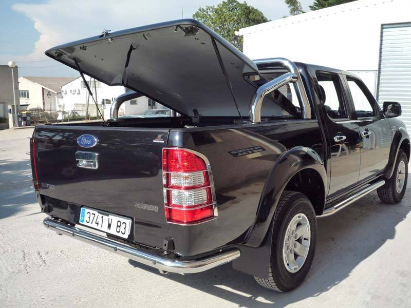 couvre benne ford mazda xlt 2007 double cab cover truck. Black Bedroom Furniture Sets. Home Design Ideas