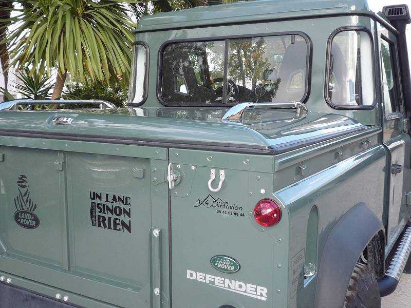 Couvre benne land rover defender 90 pick up cover truck for Arceau exterieur defender 90